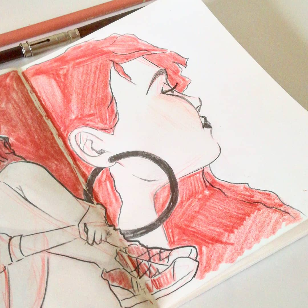 Sketchbook illustration by Gloria Shugleva – Designer and illustrator